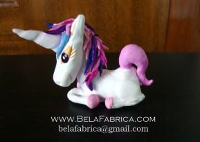 Clay Figurine Unicorn by BelaFabrica